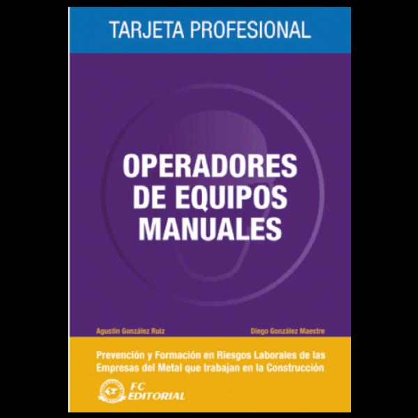Operadores de equipos manuales