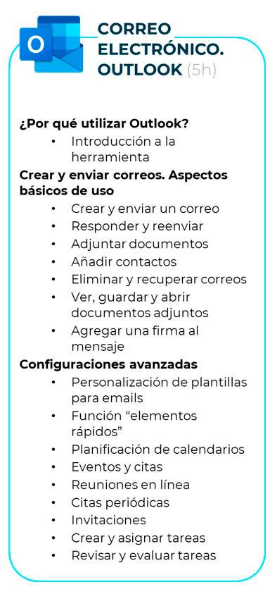 Curso de Microsoft 365 - Correo