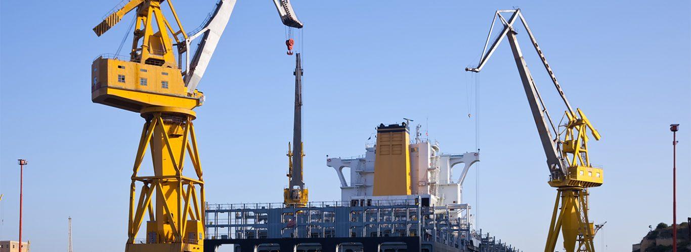 C.2 Trabajos de construcción, reparación y mantenimiento naval en astilleros y muelles